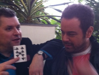 Magic for Danny Dyer