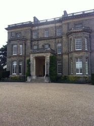 Stately home entrance