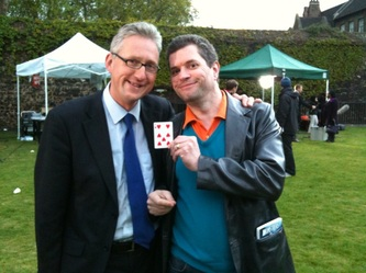 Magic with Lembit Opik