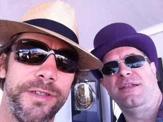 Mike Stoner with Jay Kay